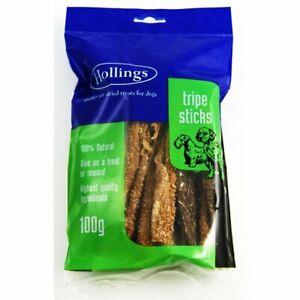 Hollings Tripe Sticks Dog Treats 100g And 2.5kg Sizes