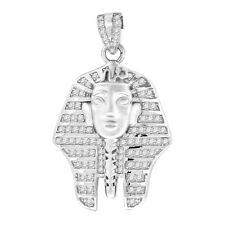 Premium Bling - 925 Argent Sterling Pharaon Pendentif