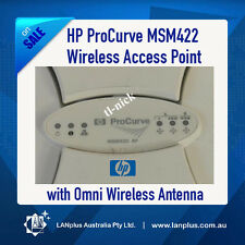 HP Procurve MSM422 Wireless a/b/g/n POE Access Point w/ Omni Antenna J9359B