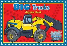 Big Trucks Deluxe Jigsaw Book (Deluxe Jigsaw Books), New, Five Mile Press Book