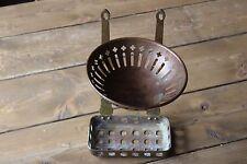 Antique Brass Soap Holder