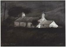 JOHN KNAPP-FISHER Pencil Signed Limited Edition Print THE WATCH COTTAGE