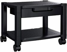 Printer Stand Under Desk With Cable Management Amp Black