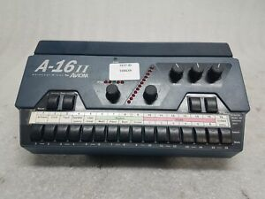 Aviom A-16II Personal Mixer A-net 16 channel personal monitor IEM stage TESTED