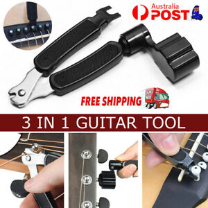 3-in-1 Guitar String Winder and Cutter Pin Puller Electric Acoustic Guitar Tool