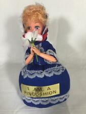 Vintage 1970's Young Woman Pincushion New