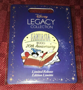 Fantasia 2000 20th Anniversary Sorcerer Mickey Disney LR Legacy Collection Pin