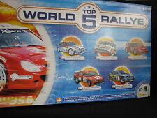 Heller Top 5 World Rallye box 1:24 Ford, Peugeot, Citroën, Mitsubishi & Subaru
