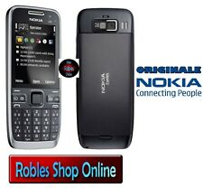 Nokia e52 Black (Senza SIM-lock) Smartphone WLAN 3,2mp 3g GPS MADE Finland Top Ovp
