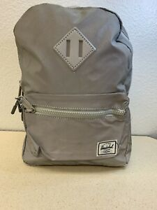 Herschel Supply Company Heritage Youth Silver Reflective Backpack