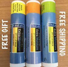 3 ChapIce Lip Balms Almond Swirl Citrus Mist Vanilla Mint RARE ~Free Citrus Revo