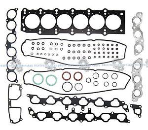 """98-05 Lexus GS300 SC300 IS300 3.0L """"2JZGE"""" DOHC Engine Head Gasket Set"""