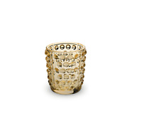 LALIQUE CRYSTAL MOSSI VOTIVE GOLD LUSTER Ref: 10370000 RRP £80