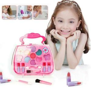 Girls Princess Castle Vanity Beauty Portable Travel Makeup Toys Non-toxic Gift