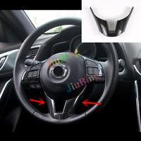 For Mazda 3 Axela 2014-16 carbon fiber Center Console Stripe Decoration Trim