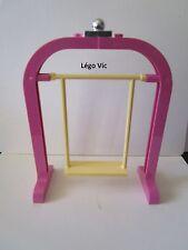 Lego Belville 6199 - 6200 Swing Balançoire Yellow Pink Jaune Rose du 5820 ou MOC