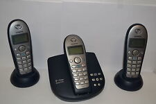 Telekom T-Sinus 712A Trio mit Gigaset C35H Mobilteil Telefon mit AB aquablue