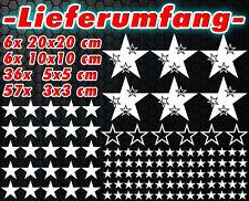 105 Sterne XXL Set Star Auto Aufkleber Sticker Tuning Stylin WandtattooTribel x8