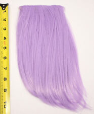 10'' Long Clip on Bangs Lavender Purple Cosplay Wig Hair Extension Accessory NEW
