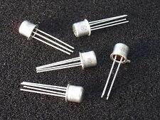 Tested and Guaranteed Qty 5: Motorola 2N2857 RF UHF HF Transistor New NOS Xlnt!