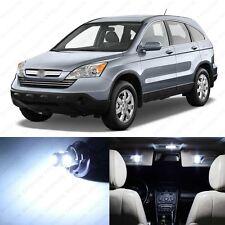 8 x White LED Interior Lights Package For 2007 - 2012 Honda CR-V CRV + PRY TOOL