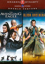 Dragon Dynasty (The Avenging Eagle / Blood Brothers) (Double Feature), Good DVD,