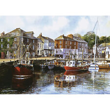 Gibsons Padstow Harbour Jigsaw Puzzle (1000 Pieces) - Brand New Gibson