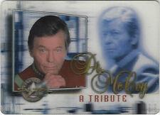 TC Star Trek CINEMA 2000 DR MCCOY TRIBUTE CARD M9