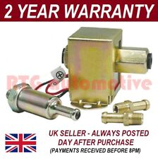 UNIVERSAL SOLID STATE FACET STYLE 12V FUEL PUMP INCLUDES IN LINE FILTER + UNIONS