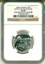 2005 Canada 50c Battle Of The Scheldt NGC SP69