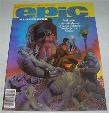 EPIC ILLUSTRATED #2 (Marvel 1980) P Craig Russell story/art (VF-) ALMURIC begins