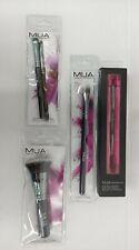 4-Piece Set Mua Makeup Brushes. For eyes, pressed powder, concealer, & brows New