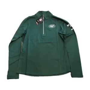 NWT New York Jets Nike Dri-Fit 1/2 Zip Women's Element Large Performance Jacket