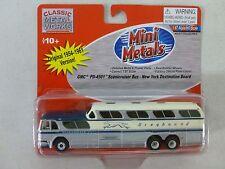 Classic Metal Works GMC PD-4501 Scenicruiser Greyhound Bus 1:87
