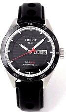 Tissot PRS516 Powermatic 80 Leather Automatic Men Watch T1004301605100 New Orig