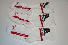 New lot of 3 SockGuy Men's California Freedom Socks L/XL Bear Republic made USA