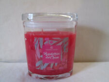 2018 Colonial Candle~RASPBERRIES & CREAM~ 8oz Oval Jar Candle, 2 wick