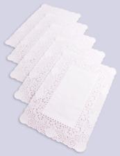 More details for rectangular paper doilies doyley doylies 16