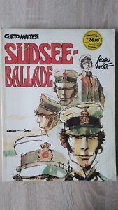 Corto Maltese 5 : Südseeballade 1.Aufl. Zustand 1 - 2 Carlsen 1983