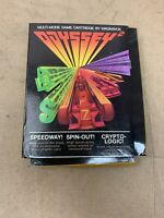 Magnavox Odyssey 2 Speedway/spin-out/cryptologic O2