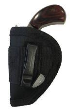 NAA 5 Shot Revolver .22 Mag | Pocket Gun Holster | Pro-Tech Black Nylon Ambidext