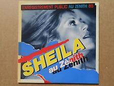 Sheila Enregistrement Public Au Zenith 85 33T LP