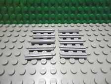 Lego 10 Light Bluish Gray technic axle 3 stud or 7/8 inch length