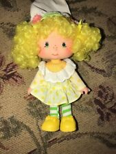 "Vintage Strawberry Shortcake Doll ""Lemon Meringue"""