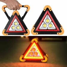 35W Dreieck COB LED Arbeitsleuchte Aufladbar Auto Warnleuchte Strahler Flutlicht