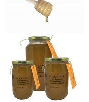 Raw Honey, Pure Honey, Citrus Flowers Raw Honey, Arizona Local Honey 16oz(600g)