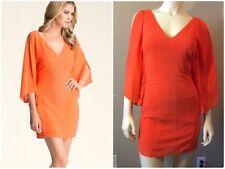 Bebe Embellished Sleeve Dress Size XS