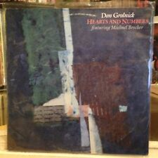 [SOUL/JAZZ]~EXC LP~DON GROLNICK~MICHAEL BRECKER~Hearts And Numbers~{OG 1985~HIP