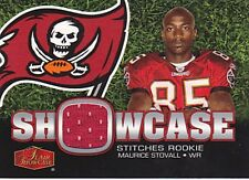 MAURICE STOVALL RC 2006 FLAIR SHOWCASE STITCHES #SHS-MS JERSEY FB4074