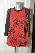 jolie robe boule superposée en coton  DESIGUAL taille 11/12  ans excellent état
